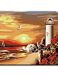 cheap -on wall decorative Hand Painted Oil Painting pictures the end of earth with Stretched Frame Ready to Hang