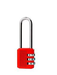Недорогие -Замок для багажа / Кодовый замок 3 цифра Хранение в дороге / Кодовый замок / Защита от кражи Назначение Чемоданы на колёсиках сплав цинка