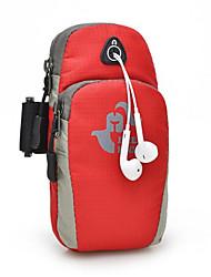 abordables -Brassard Sac de téléphone portable Running Pack pour Course / Running Cyclisme / Vélo Voyage Fitness Sac de Sport Multifonctionnel Etanche Séchage rapide Nylon Sac de Course / iPhone X / iPhone XS