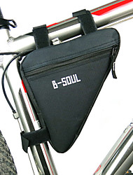 cheap -B-SOUL Bike Frame Bag Top Tube Triangle Bag Moistureproof Wearable Shockproof Bike Bag Polyester PVC(PolyVinyl Chloride) Terylene Bicycle Bag Cycle Bag Cycling / Bike / Waterproof Zipper