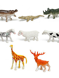 cheap -68 pcs Display Model Animals Cool Novelty Simulation Plastic Imaginative Play, Stocking, Great Birthday Gifts Party Favor Supplies Girls'