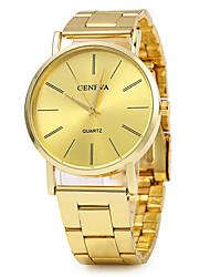 cheap -Geneva Women's Wrist Watch Gold Watch Quartz Stainless Steel Gold Hot Sale / Analog Ladies Vintage Fashion Dress Watch - Gold One Year Battery Life / SSUO LR626
