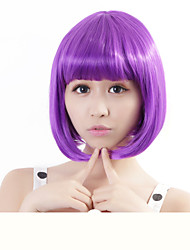 cheap -Synthetic Wig Straight Straight Bob Wig Blonde Pink Ombre Light Blue Fuxia New Purple F8-613# F12-613# Synthetic Hair Women's Red Blue Blonde