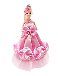 cheap -Doll Clothes Girl Doll Cute Wedding Dress Evening Dress Plastic Fashion Toddler Girls' Toy Gift