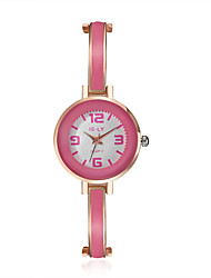 cheap -2016 Jewelora Luxury Noble Pink Quartz 18K Rose Gold Women Party Watches