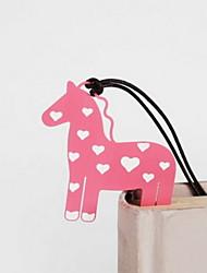 Недорогие -лошадь из нержавеющей стали закладки 1 шт случайный цвет