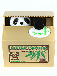 cheap -Itazura Coin Bank / Money Bank Piggy Bank / Money Bank Stealing Coin Bank Cute Electric Panda Plastic Adults' Boys' Girls' Toy Gift