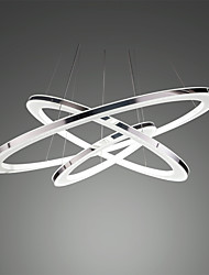 cheap -1-Light 50cm(20 Inches) LED Pendant Light Acrylic Acrylic Silver Modern Contemporary 90-240V