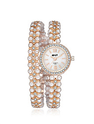 cheap -jewelora Women's Fashion Watch Dress Watch Quartz Gold Shock Resistant Casual Watch Analog Vintage - Gold