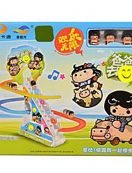 Недорогие -звуковая музыка слайд-детские образовательные игрушки электрические творческий вагон