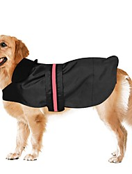 cheap -Dog Coat Jacket Vest Winter Dog Clothes Black Blue Coffee Costume Cotton Solid Colored Waterproof XS S M L XL XXL