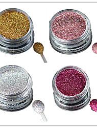 cheap -1 bottle nail art laser colorful glitter shining powder manicure makeup decoration nail beauty l1 4
