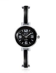 cheap -jewelora Women's Fashion Watch Dress Watch Quartz Black Shock Resistant Casual Watch Analog Vintage - Black