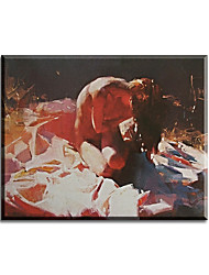 cheap -Hand Painted Oil Painting with Frame