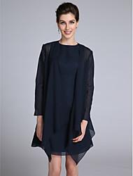 abordables -Manches Longues Mousseline de soie Mariage / Soirée Etoles de Femme Avec Drapée Manteaux / Vestes