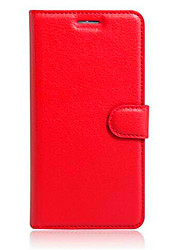 cheap -Case For Alcatel Alcatel POP3 (5.5)OT5025 / Alcatel Pop Star 5022D / Alcatel PIXI 4 (3.5) Card Holder / with Stand / Flip Full Body Cases Solid Colored Hard TPU