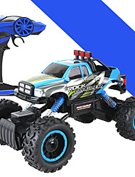 cheap -Buggy HL 1:14 Brush Electric RC Car 5 2.4G Blue Ready-To-GoRemote Control Car Remote Controller/Transmitter Battery Charger User Manual