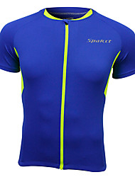cheap -SPAKCT Men's Short Sleeve Cycling Jersey Bike Top Breathable Quick Dry Sports Clothing Apparel / Stretchy