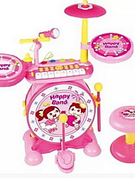 cheap -Rock Piano Jazz Drum Drum Drum Combination Of Children'S Educational Early Childhood Percussion Toys