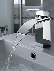 cheap -Bathtub Faucet Chrome Wall Mounted Ceramic Valve Bath Shower Mixer Taps Silvery Contain with Cold and Hot Water