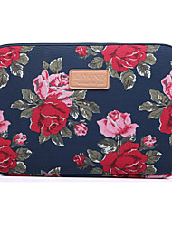 "cheap -10.1"" 11.6"" 13.3"" Canvas Laptop Sleeves Fabrics Flower Laptop Bag for Macbook/Surface/HP/Dell/Samsung/Sony Etc"