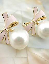 cheap -Women's Drop Earrings Fashion Adjustable Pearl Alloy Others Circle Bowknot Jewelry Daily Casual