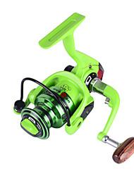 cheap -Fishing Reel Spinning Reel 5.2:1 Gear Ratio+11 Ball Bearings Hand Orientation Exchangable Bait Casting / Ice Fishing / Spinning - BF2000 / Freshwater Fishing / Carp Fishing / Bass Fishing