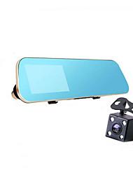 Недорогие -вождения рекордер двойной объектив видеокамеры HD 1080p автостоянка мониторинг нескольких языков