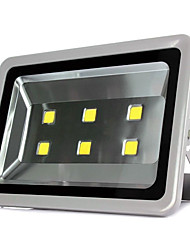cheap -1pc LED Floodlight Waterproof / Decorative Warm White / Cold White 85-265 V Outdoor Lighting 6 LED Beads