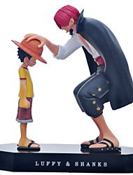 cheap -Anime Action Figures Inspired by One Piece Monkey D. Luffy PVC(PolyVinyl Chloride) CM Model Toys Doll Toy Men's