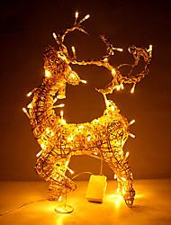 Недорогие -1pc водить батареи Рождественский подарок украшение интерьера палевый свет ночи