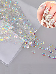 cheap -1000 pcs Rhinestones nail art Manicure Pedicure Daily Glitters / Classic / Wedding / Acrylic
