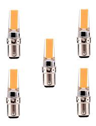 Недорогие -ywxlight® 5pcs ba15d 5w 2835smd светодиодные лампы с двухполюсным освещением с регулируемой яркостью теплый белый холодный белый светодиодный фонарик люминесцентных ламп накаливания ac 220-240v