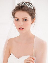 cheap -Alloy Tiaras / Headbands / Headwear with Floral 1pc Wedding / Special Occasion / Casual Headpiece