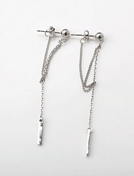 cheap -Women's Fashion Sterling Silver Earrings Jewelry Silver For Daily Casual