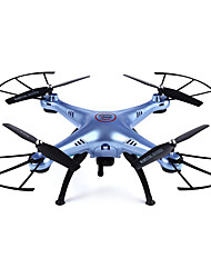 cheap -RC Drone SYMA x5hw 4CH 6 Axis 2.4G With HD Camera 0.3MP 480P RC Quadcopter LED Lights / One Key To Auto-Return / Auto-Takeoff RC Quadcopter / Remote Controller / Transmmitter / Camera / Headless Mode