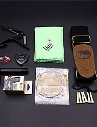 cheap -Professional General Accessories 9pcs Set Guitar Musical Instrument Accessories