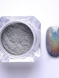 cheap -2g box nail glitter powder shinning mirror eye shadow makeup powder dust nail art diy chrome pigment glitter