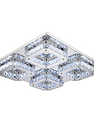 """cheap -UMEI™ 4-Light 45(18"""") LED Flush Mount Lights Metal Electroplated Modern Contemporary 90-240V"""