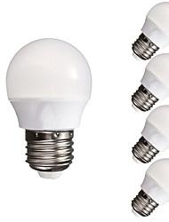 cheap -5pcs 3 W LED Globe Bulbs 300-350 lm E26 / E27 A60(A19) 10 LED Beads SMD 5730 Dimmable Decorative Warm White Cold White 220-240 V 110-130 V / 5 pcs / RoHS / CCC