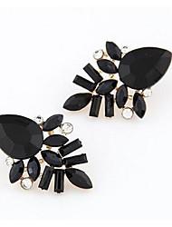 cheap -Women's Stud Earrings Drop Earrings Leaf Fashion Earrings Jewelry Fuchsia / Red / Blue For Wedding Daily Casual 1pc