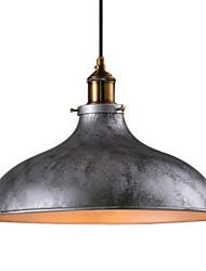 Недорогие -чаша Подвесные лампы Торшер Окрашенные отделки Металл Мини 110-120Вольт / 220-240Вольт Лампочки не включены / E26 / E27