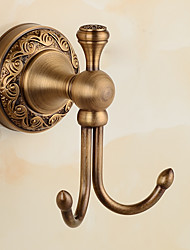 cheap -Robe Hook Antique Brass 1 pc - Hotel bath