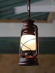 cheap -Lantern Pendant Light Ambient Light Others Metal Glass LED 110-120V / 220-240V Yellow Bulb Not Included / E26 / E27