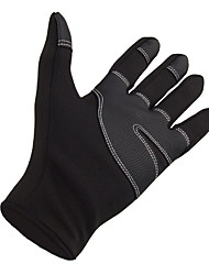 cheap -Winter Gloves Ski Gloves Snow Gloves for Men Thermal Warm Waterproof Windproof Canvas Fleece Full Finger Gloves Snowsports for Cold Weather Winter Ski / Snowboard