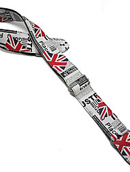cheap -Guitar Strap Leather Strap Printing Electric Guitar Strap