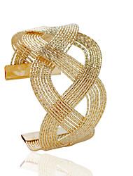 cheap -Women's Cuff Bracelet Fashion Alloy Bracelet Jewelry Silver / Golden For