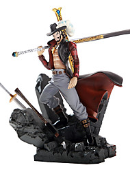 cheap -On Top of Other Theater Version of Hawkeye Mihawk King of Battle Garage Kit Anime Action Figures Model Toy