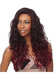 cheap -Synthetic Wig Body Wave Body Wave Wig Long Fuxia Synthetic Hair