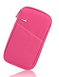 cheap -Travel Wallet Portable for Travel StorageRose Green Blue Blushing Pink Wine